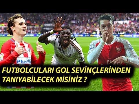 Futbolcuları Gol Sevinçlerinden Tanıyabilecek Misiniz ? ( 2.Bölüm )