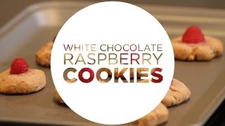 Cooking Clean with Quest - White Chocolate Raspberry Cookies