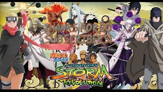 NSUNSR Ultimate Modpack: Storm 4 Characters and more! Thanks for 50 subscribers!