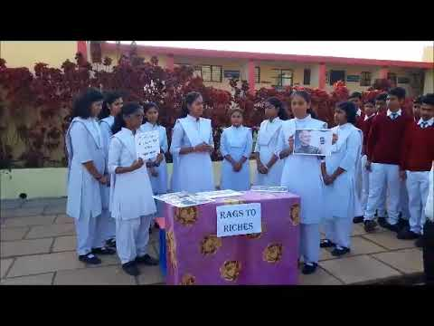 English Exhibition at JNV Ratangiri