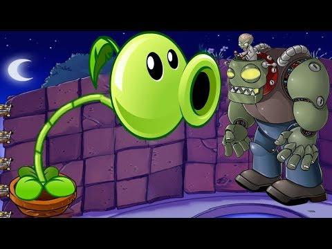 1 Peashooter Hack Pvz vs Dr. Zomboss Plants vs Zombies