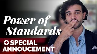 How To Set Standards in a Relationship [Power of Standards] + Special Announcement - Ask Harvey #3