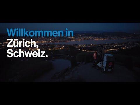 Willkommen in Zürich, Schweiz.