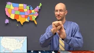 50 States of America in ASL