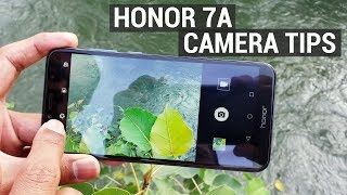 Honor 7A Best Camera Settings in Detail
