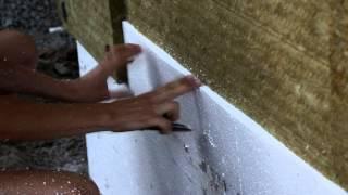Как утеплить фасад дома. Утепляем дом каменной ватой и пенопластом