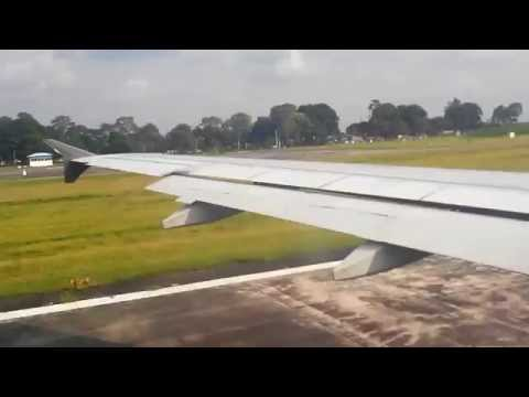 GO AIR G8-154 takeoff for NEW DELHI from BAGDOGRA