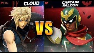Captain Falcon vs Cloud