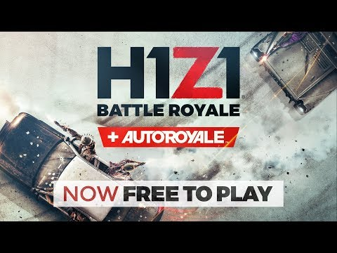 H1Z1 Is Now Free To Play | H1Z1 | Battle Royale | Auto Royale