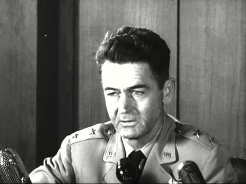 "Maj. Gen. John A. Samford's Statement on ""Flying Saucers"", Pentagon, Washington, DC, 07/31/1952"