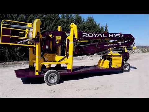 PUTZMEISTER Pump & Mobile Concrete Placing Boom  ROYALMAC H15+3