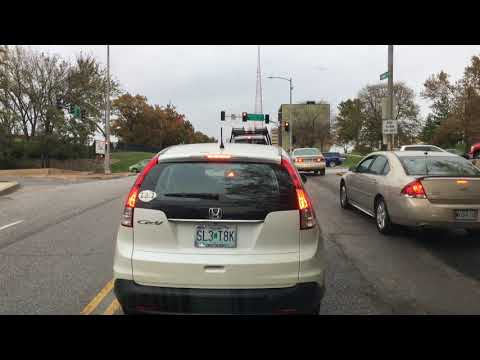 20171107 Tuesday Drivelapse Kansas CIty Metro Area