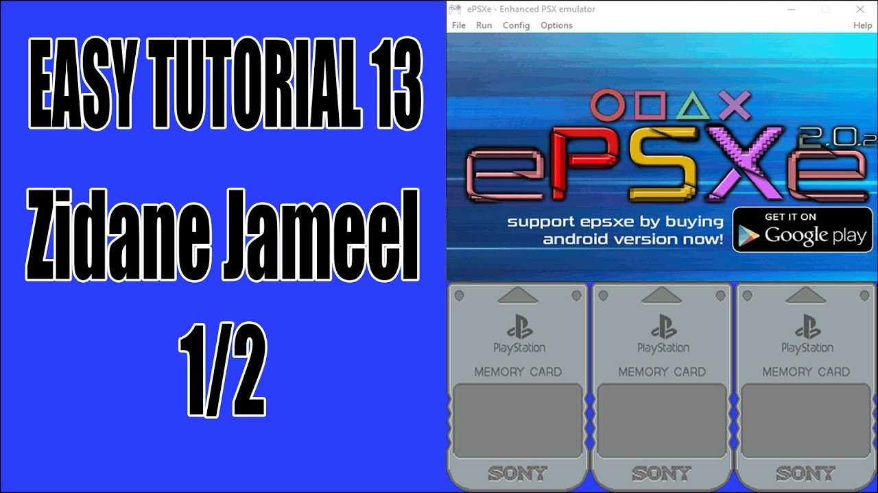 ePSXe (EASY TUTORIAL 13) How to convert PS1 USA Save Game to Japanese Save  Game?