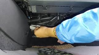 VW폭스바겐 6세대 제타jetta 에어컨 필터교환