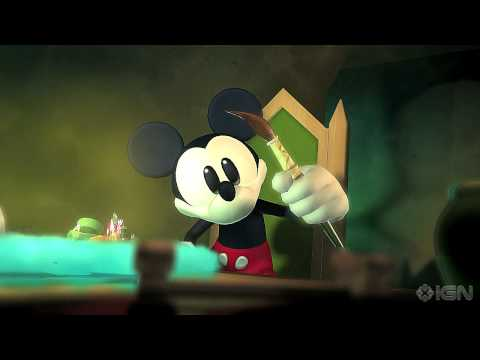 Epic Mickey Intro Cinematic Trailer - Gamescom '10