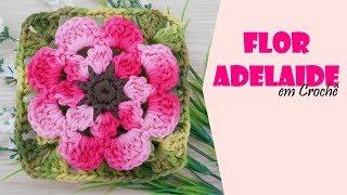 Flor Adelaide feita por Carine Maria Strieder