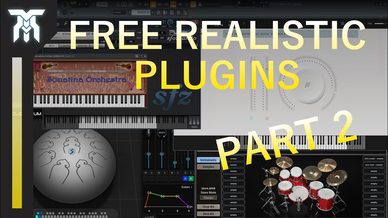 Best FREE Realistic Instrument VST/AU Plugins For Windows & Mac (2019)
