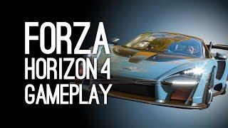 Forza Horizon 4 Gameplay: Forza Horizon 4 Gameplay Demo at E3 2018 Xbox Conference