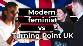 Modern Feminist vs Turning Point UK