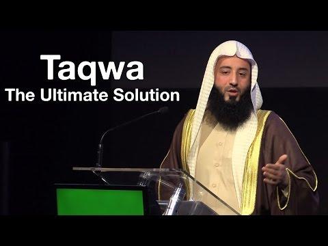 Taqwa: The Ultimate Solution || Ustadh Wahaj Tarin