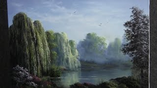 paint with kevin hill weeping willows