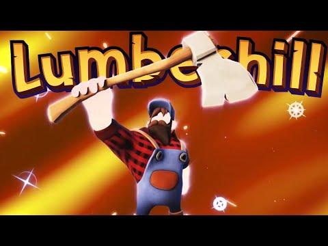 Lumberhill - PVP LUMBERJACK GAMES!! (4 Player Demo Gameplay)  