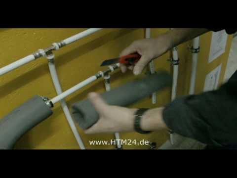 Kautschuk Rohrisolierung Youtube