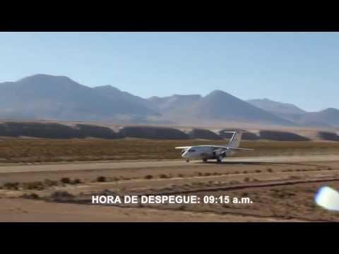 Histórico aterrizaje de avión DAP a 3.800 m.s.n.m (12.500 pies)