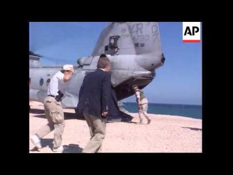 Somalia - Marines Cover Bangladeshi Departure