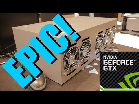 Exclusive! Nvidia Mining Rig!