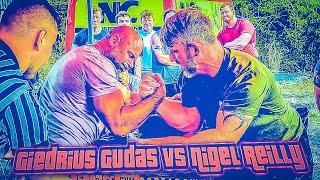 Giedrius Gudas vs Nigel Reilly Best of 6 Supermatch