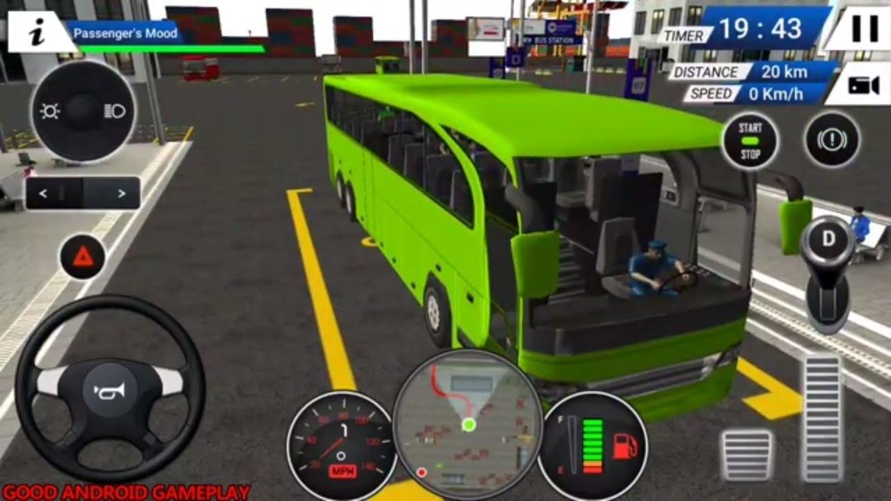 Euro Bus Driving Simulator 2018 Pro Bus International Driver