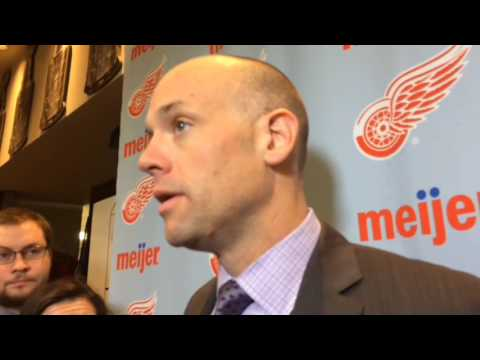 Red Wings' Jeff Blashill glad to see Tomas Tatar, Gustav Nyquist score