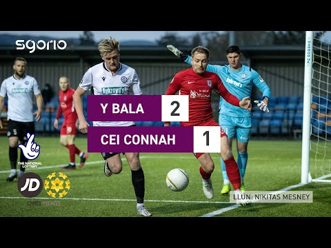 Bala Town Connahs Q. Goals And Highlights