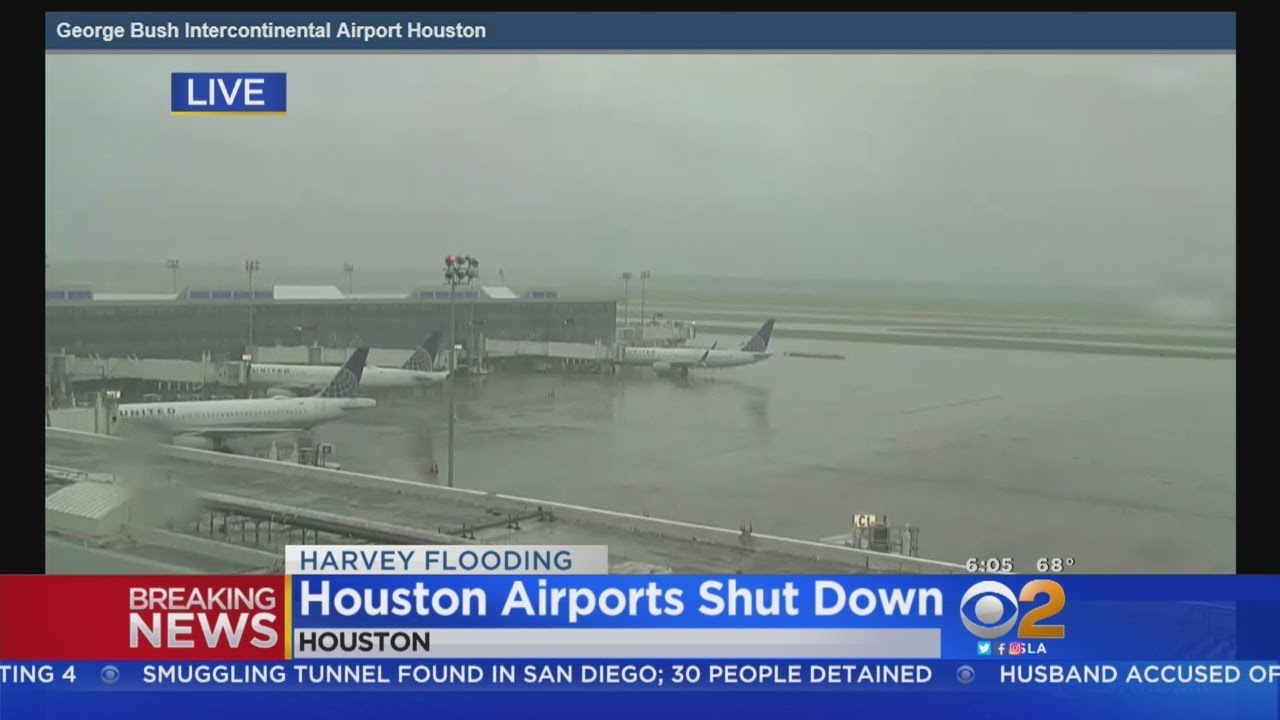 houston airport arrivals today