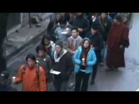 Tibetan father set himself on fire to protest China's rule in Tibet