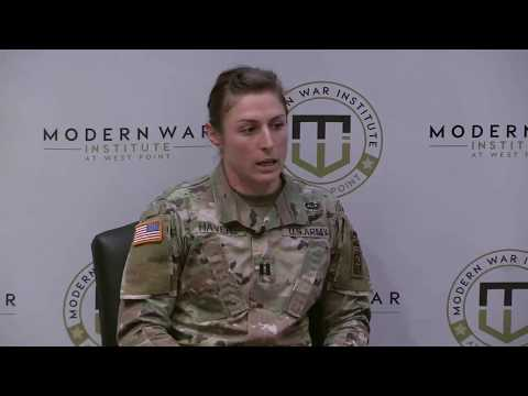 Capt. Shaye Haver Speaks About Her Development as an Infantry Officer
