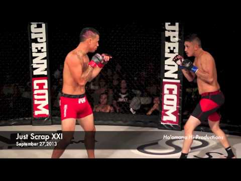 Tyler Leopoldino vs Albert Manners (Just Scrap XXI Hilo,Hawaii)