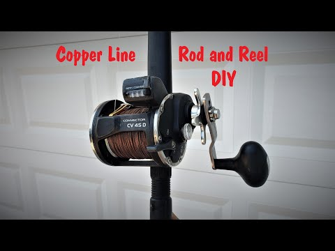 Copper Line Rod & Reel Set Up For Great Lakes Salmon And Trout Fishing (How To)