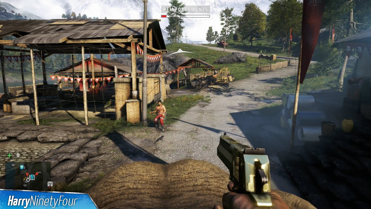 Far Cry 4 Tusker Trophy Achievement Guide 30 Kills With An Elephant Youtube