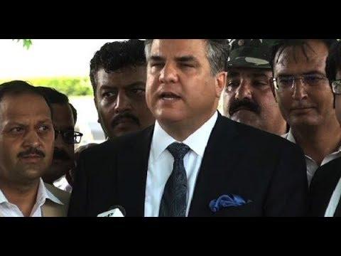 PML N Leader Daniyal Aziz Media Talk
