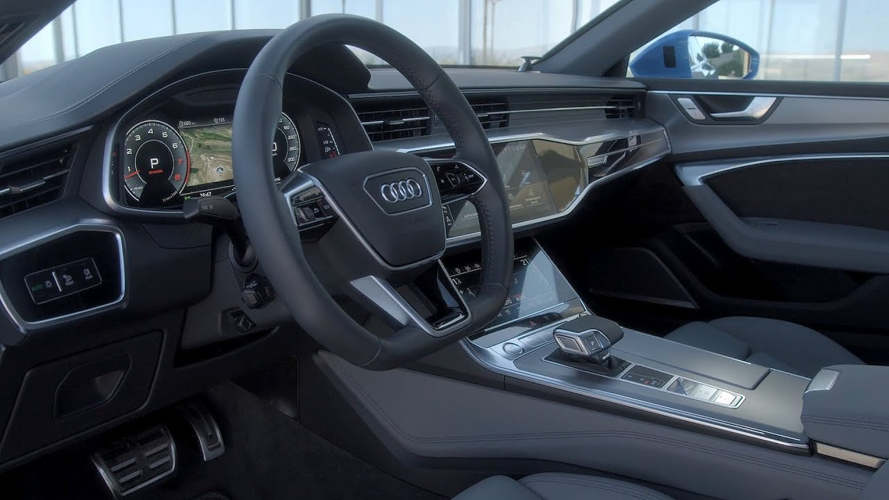 2018 Audi A7 Sportback Interior Youtube