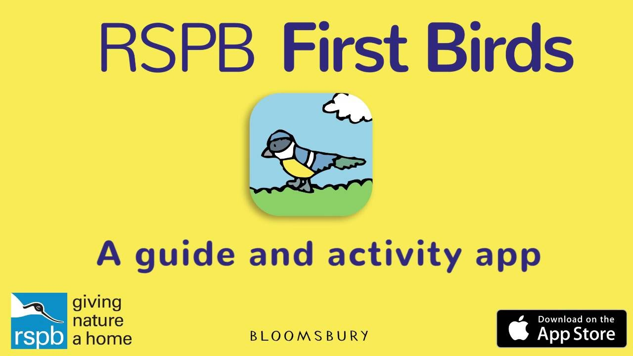 Rspb first birds a guide and activity app