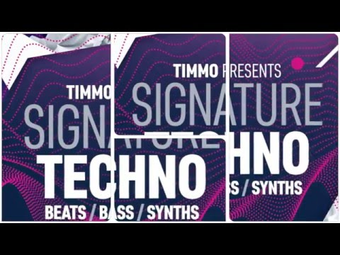 Timmo Presents Signature Techno - Techno Samples & Loops