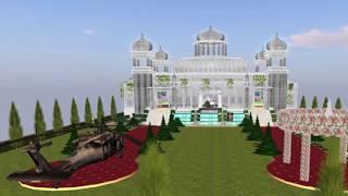 Second Life.Хрустальный Дворец Свадьбы Почувствуй себе принцессой!