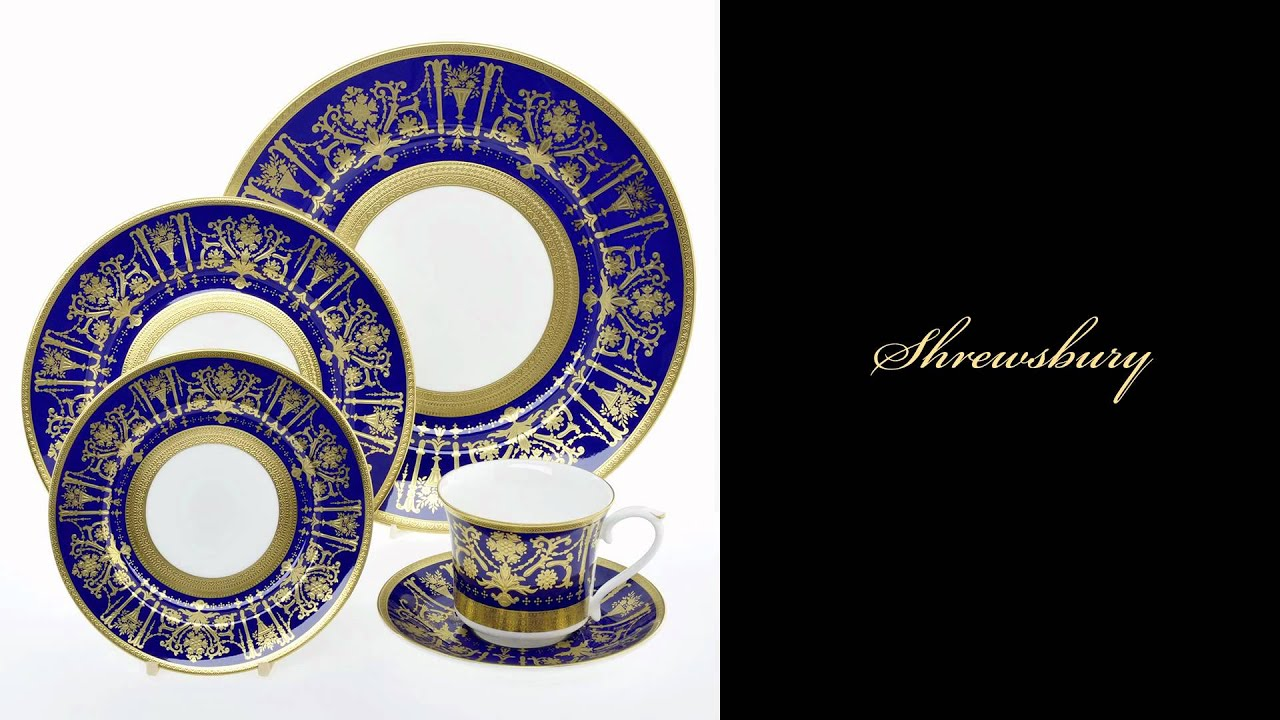 Royal Buckingham Luxury Tableware from England & Royal Buckingham Luxury Tableware from England - YouTube