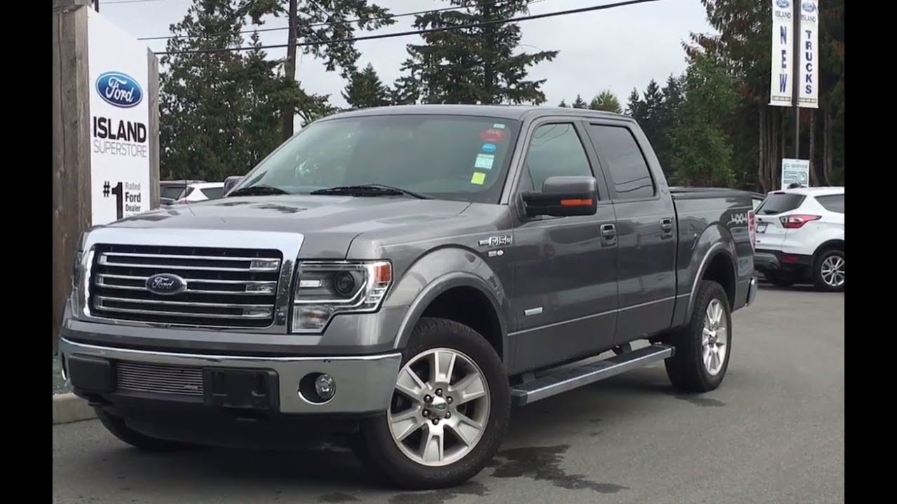 2013 ford f 150 lariat supercrew 4x4 w myford touch. Black Bedroom Furniture Sets. Home Design Ideas