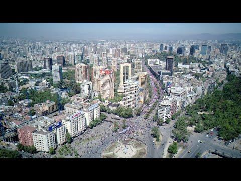 Manifestaciones en Santiago de Chile: Directo Plaza Italia
