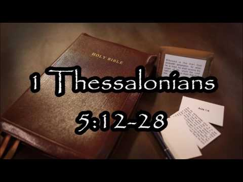 1 Thessalonians 5:12-28 Verse by Verse