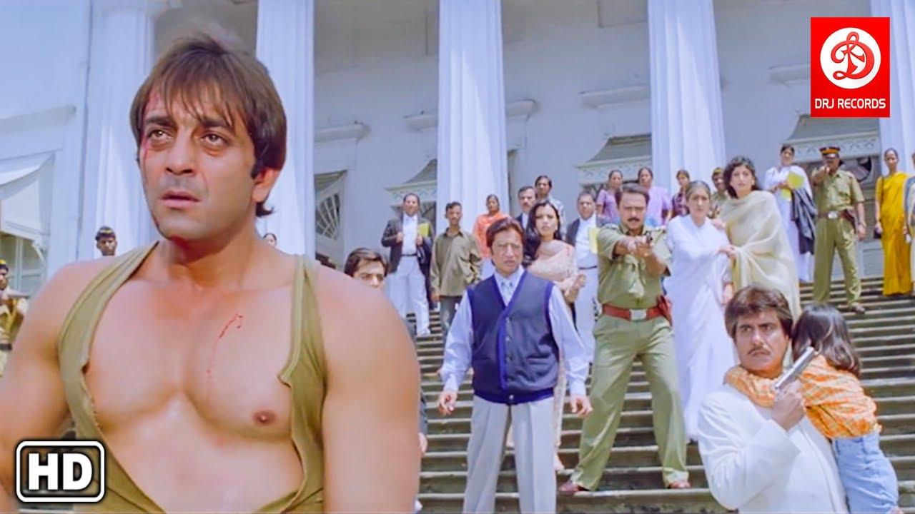 Climax Action Scenes : दाग द फायर अंतिम एक्शन सीन्स - Sanjay Dutt - Daag The Fire Last Scenes
